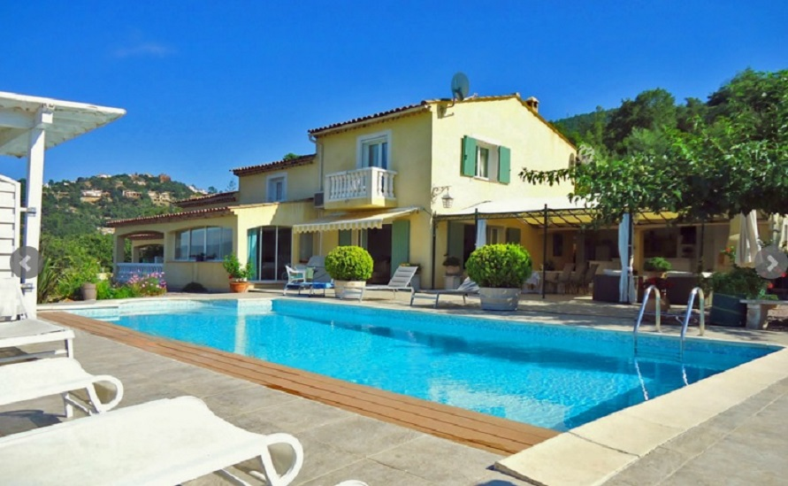 Mandelieu Holiday Rental, villa, 8 people, AL068 - Photo
